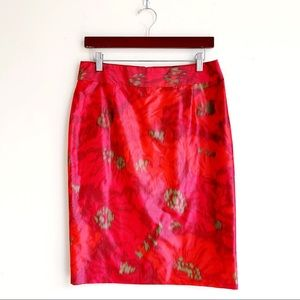 NWT J. Crew Pattern Pencil Skirt